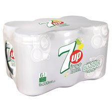 7Up Light 6 X 330 Ml Pack