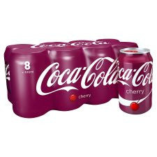 Cherry Coke 8X330ml
