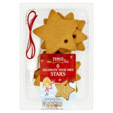 Decorate Your Own Stars 6 Pack