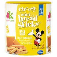 Annabel Karmel Breadsticks Cheese 50G
