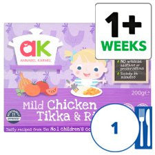 Annabel Karmel Mild Chicken Tikka And Rice 200G