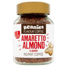Beanies Amaretto Flavour Instant Coffee 50G