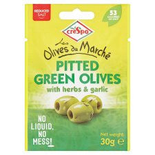 Crespo Olive Pouch Reduced Salt 30G