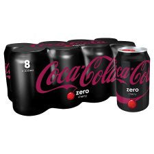 Coca Cola Coke Zero Cherry 8X330 Ml