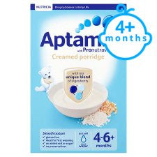 Aptamil Creamed Porridge 125G 4 Month Plus