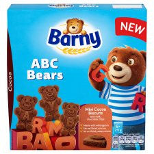 Barny Abc Bears Cocoa Biscuits 150G