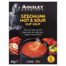 Ainsley Harriott Hot And Sour Soup 3 Pack 60G