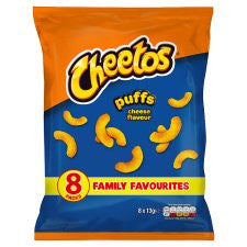 Cheetos Cheese Puffs 8X13g