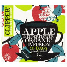 Clipper Organic Apple and Elderflower Infusion 10'S 25g