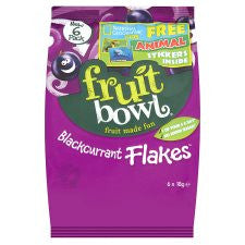 Fruit Bowl Blackcurrant Fruit Flake 6 X 18G