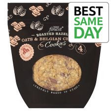 Finest Roasted Hazelnut, Oats And Belgian Cookies 4 Pack