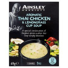 Ainsley Harriott Thai Chicken And Lemon Grass 3 Pack 69G
