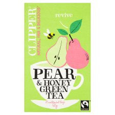 Clipper Green Tea With Pear and Honey 20'S 40g