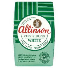 Allinson Bakers Grade Very Strong White Flour 1.5Kg
