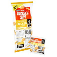 Burton's Chicken 'N' Chips 6X25g