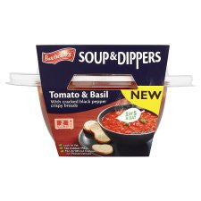 Batchelors Tomato And Basil Soup And Dippers 288G