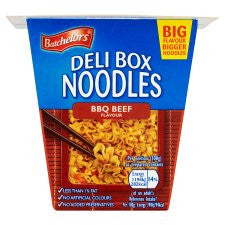 Batchelors Deli Box Bbq Beef Noodles 80G