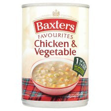Baxters Favourite Chicken And Vegetable 400G