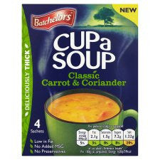 Batchelors Soup British Style Carrot And Coriander 104G