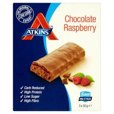 Atkins Chocolate Raspberry Bars 5 X 30G