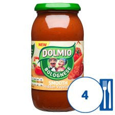 Dolmio Bolonese Smooth Vegetable Pasta Sauce 500G