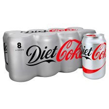 Diet Coke 8X330ml