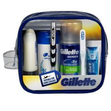 Gillette Travel Set With Mach 3 Razor