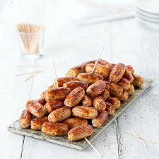 Finest Easy Entertaining 60 Mini Sausages 900G