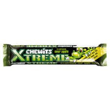 Chewits Xtremly Sour Apple Stick Pack