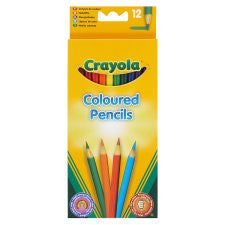 Crayola Colouring Pencils 12 Pack