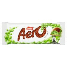 Aero Bubbly Peppermint Chocolate Bar 40G