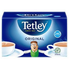 Tetley Softpack 240 Tea Bags 750g