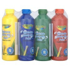 Crayola Washable Paints 4 Pack