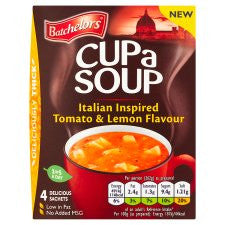 Batchelors Cup A Soup Italian Tomato And Lemon 126G