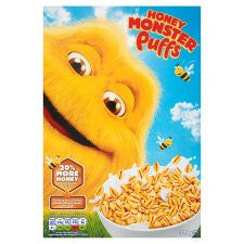 Honey Monster Puffs Cereal 320G