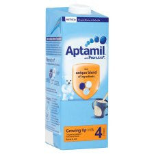 Aptamil 4 Growing Up Milk 2+ Years 1 Litre Ready To Feed