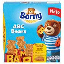 Barny Abc Bears Vanilla Biscuits 150G