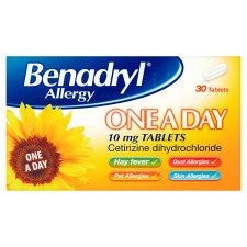 Benadryl Tablets 30S