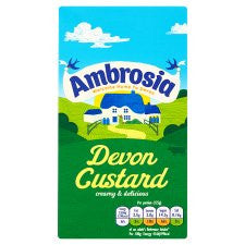 Ambrosia Ready To Serve Devon Custard 1Kg