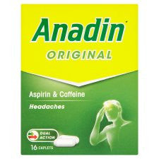Anadin Regular Tablets 16'S
