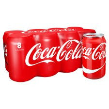 Coca Cola Regular 8X330ml