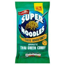 Batchelors Super Noodles Thai Green Curry 100G