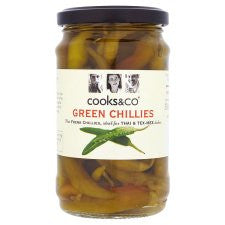 Cooks And Co Green Chillies 300G