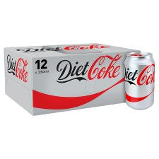 Diet Coke (Gb) 12 X 330Ml