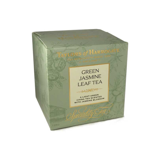 Taylors Green Jasmine Leaf Tea Carton 125G