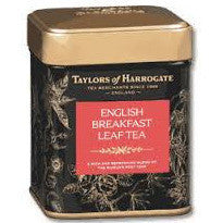 Taylors English Breakfast Leaf Tea Caddy 125G