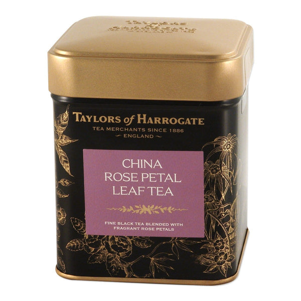 Taylors China Rose Petal Leaf Tea Caddy 125G