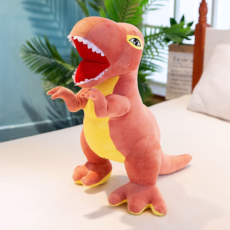 Grosse peluche dino douce et adorable