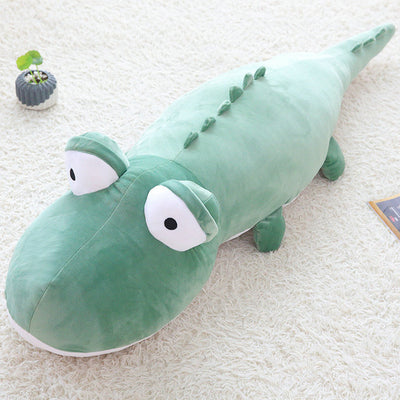 crocodile en peluches