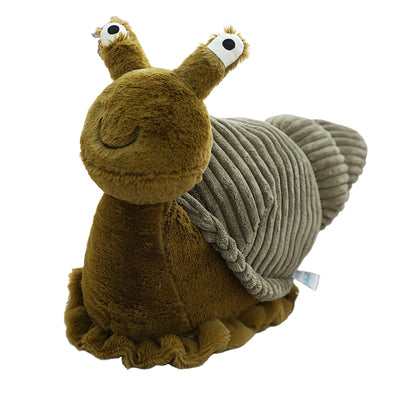 Escargot en peluche originale aux grands yeux